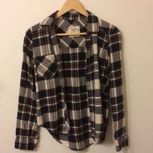 Cotton plaid flannel